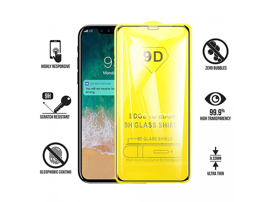 Tvrzené sklo 3D pro iPhone 11