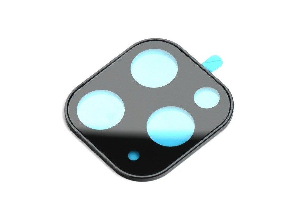 Ochranné tvrzené sklo na zadní fotoaparát pro iPhone 11 PRO bílý rámeček