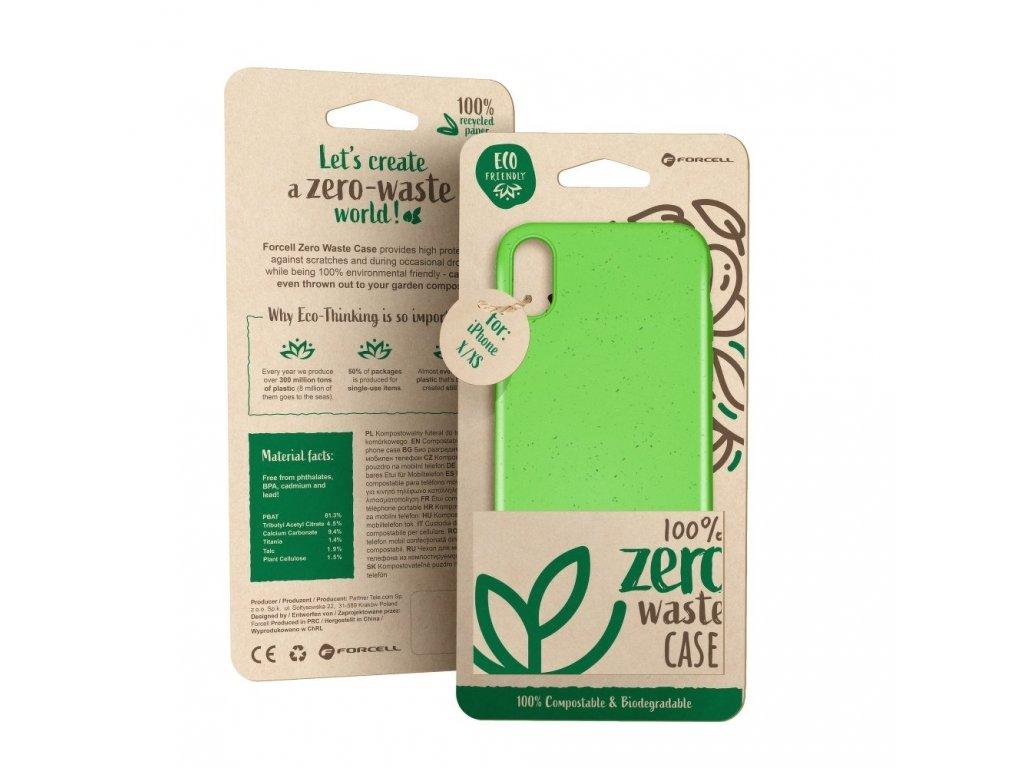 Pouzdro Forcell BIO Zero Waste Case pro iPhone 11 PRO zelené