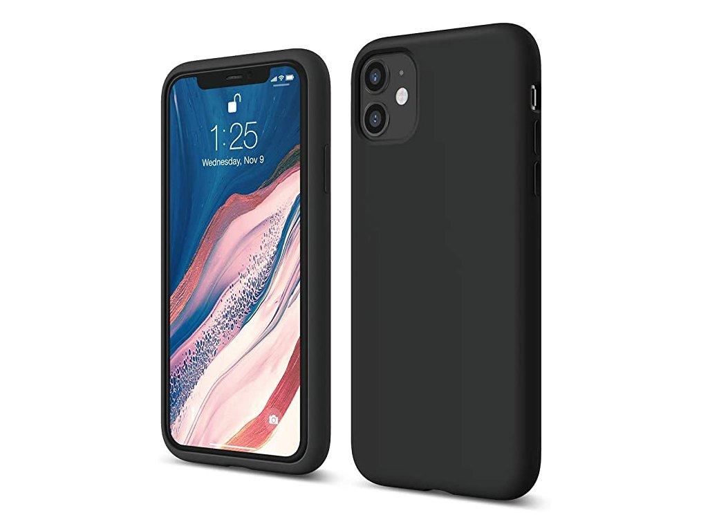 Silikonové pouzdro pro iPhone 11 Pro černé