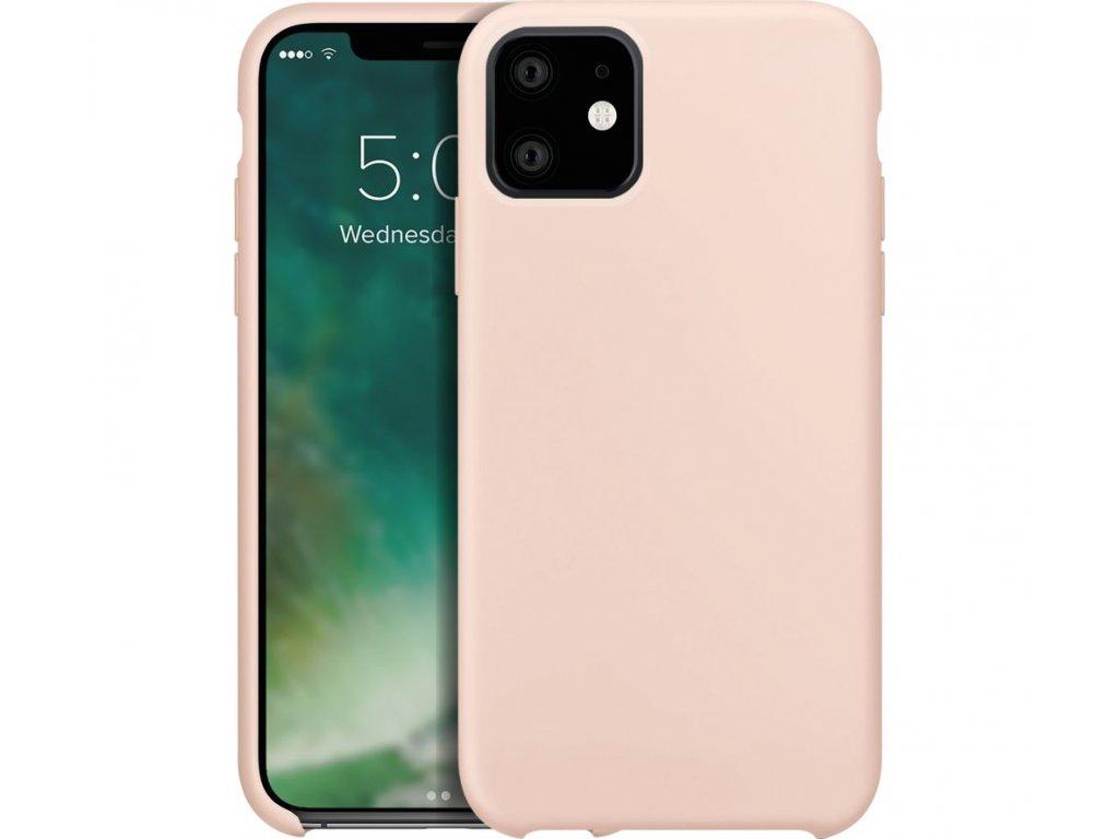 Silikonové pouzdro pro iPhone 11 Pro Max jasně ružové