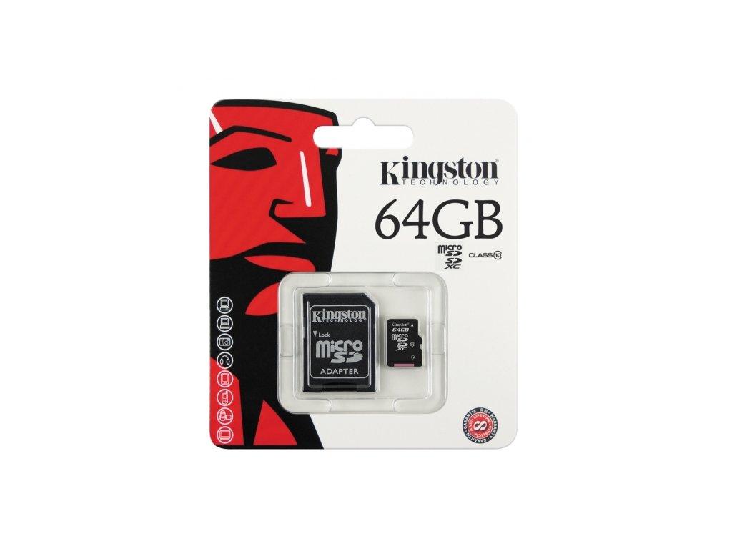 Paměťová karta microSD Imro 64GB