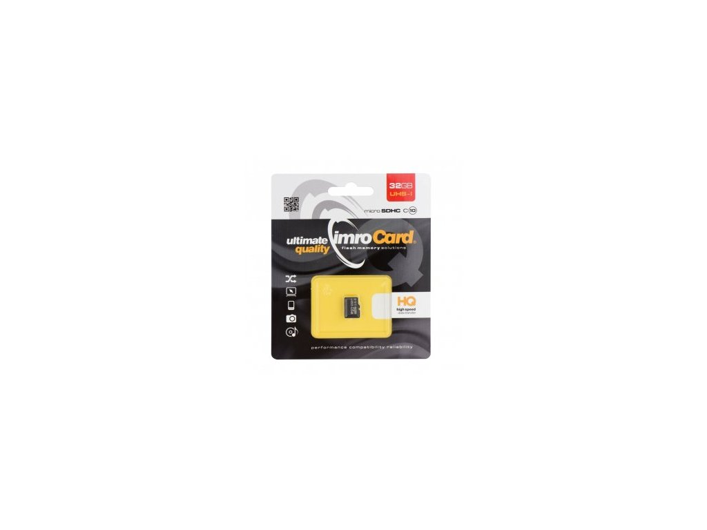 Paměťová karta microSD Imro 8GB