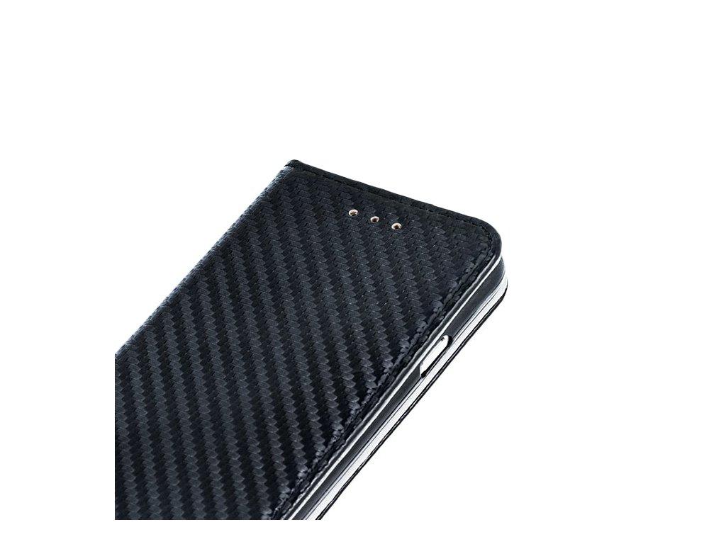 Pouzdro (knížka) carbon pro Samsung J5 2017