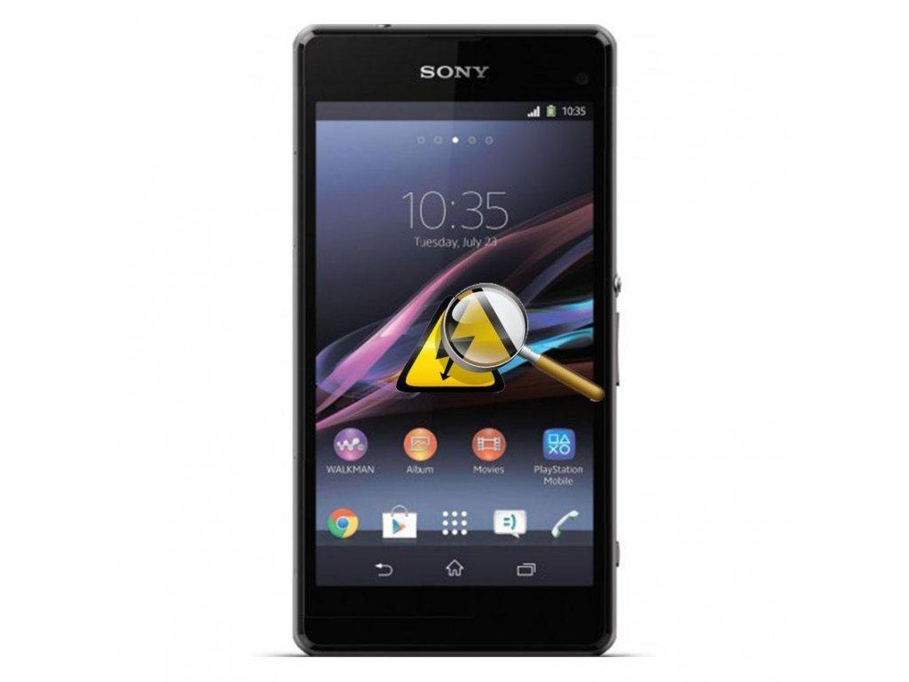 Sony Xperia Z1 Compact cerna m