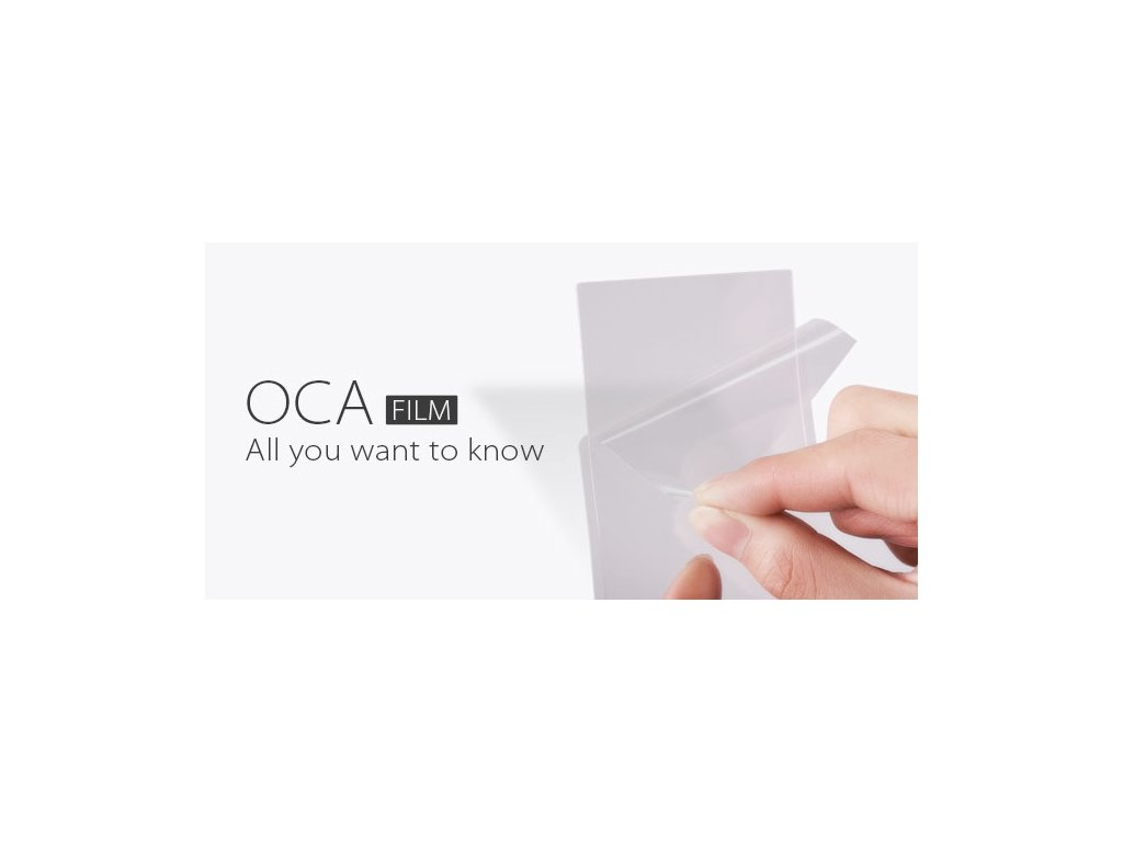OCA opticky čiré lepidlo na opravu skla pro Huawei Mate 10