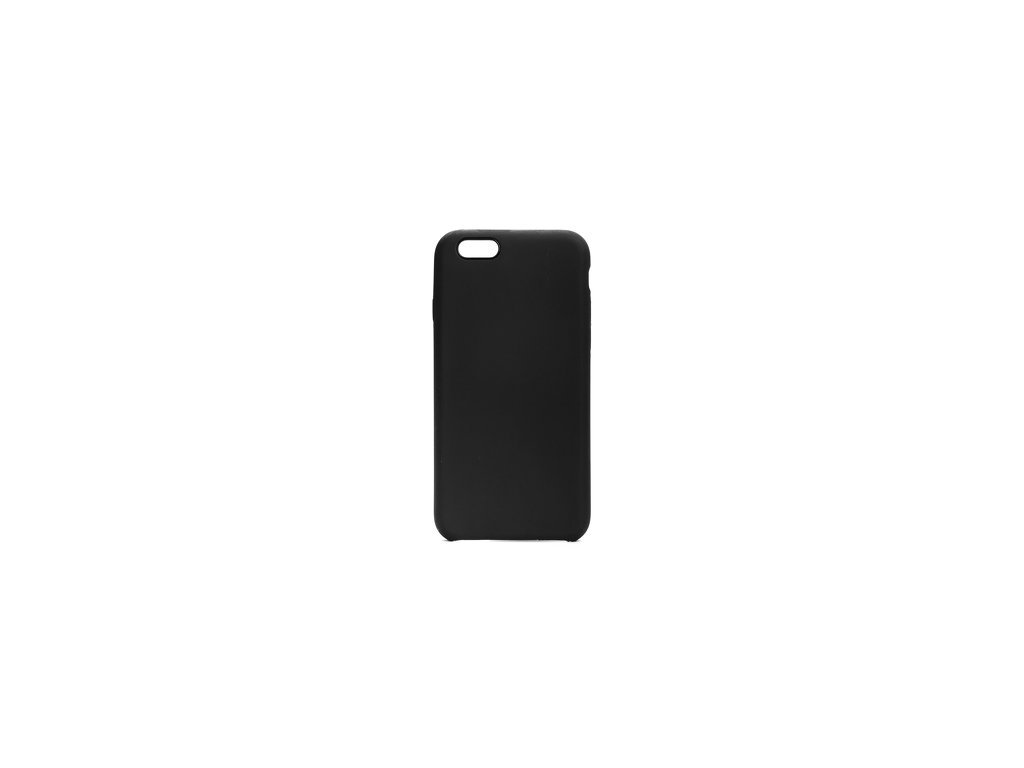 Pouzdro Forcell SILICONE pro iPhone 66S černé