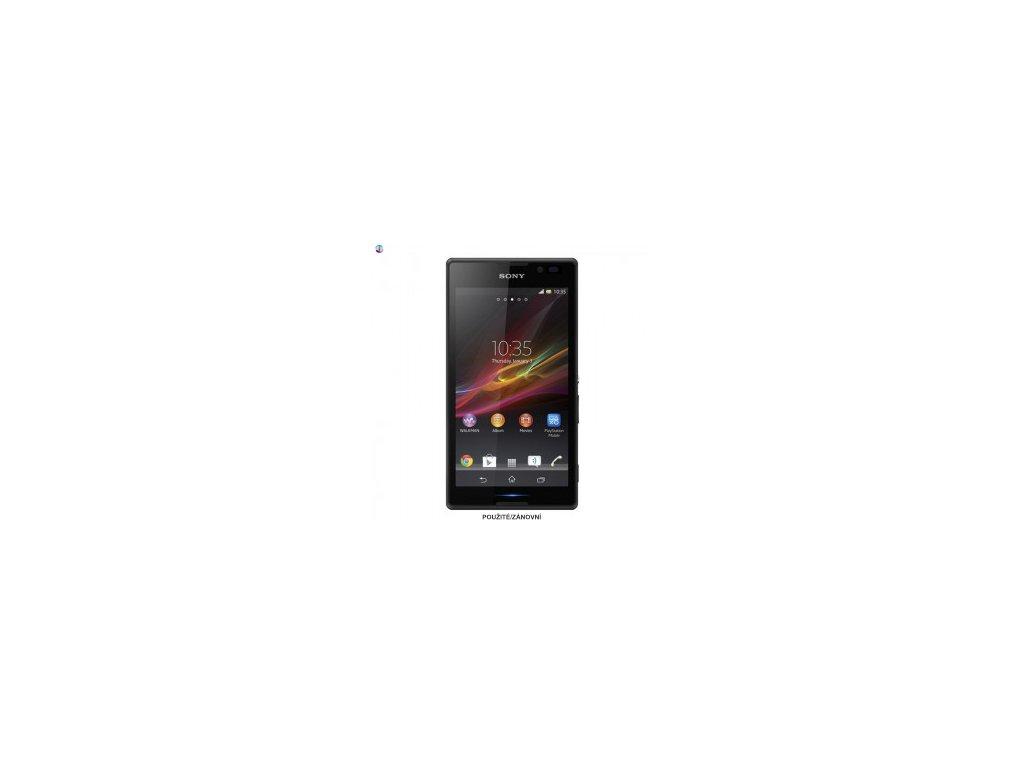 Sony Xperia C cerna