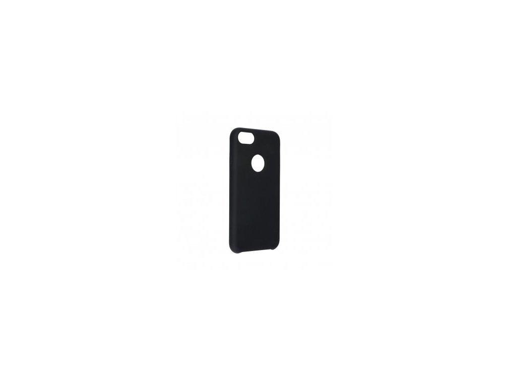 Pouzdro Forcell SILICONE pro iPhone 66S černé (s výřezem na logo)