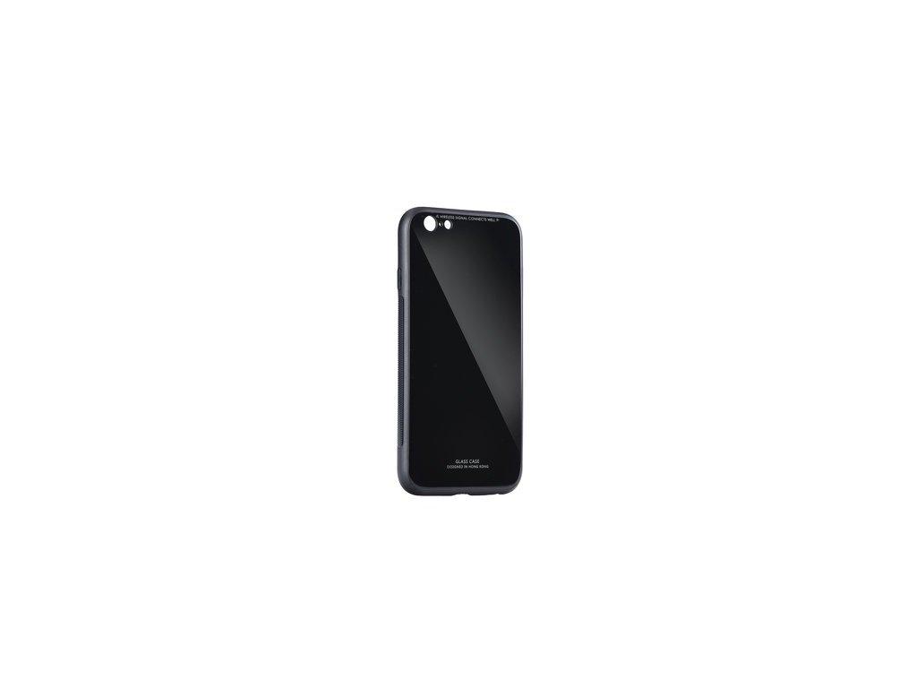 Pouzdro GLASS pro iPhone 6 6S černé