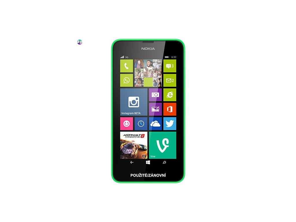 Nokia Lumia 630 zelena