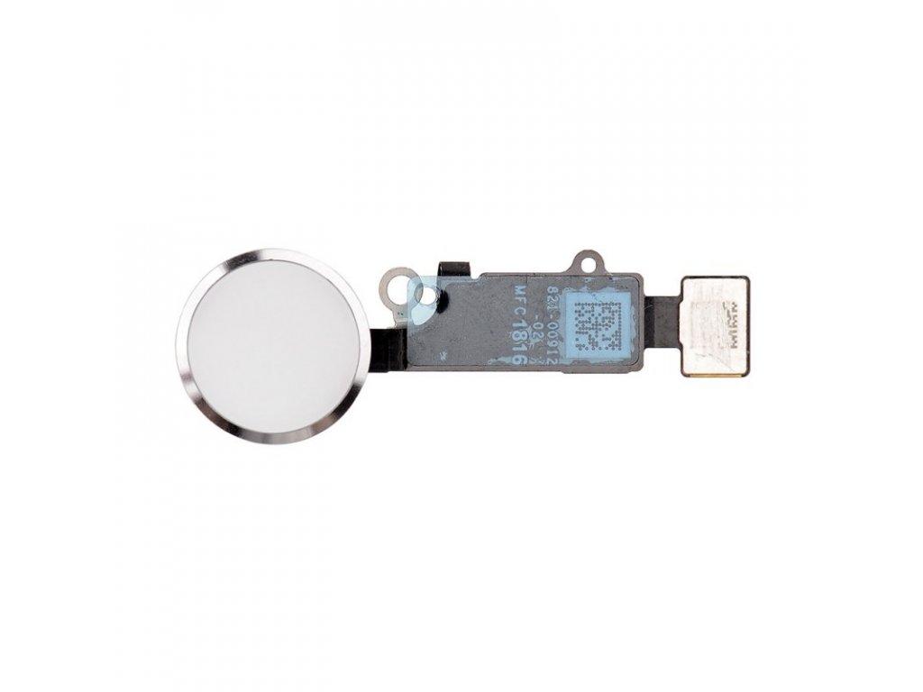 nahradni home button s funkci zpet pro apple iphone 7 bily