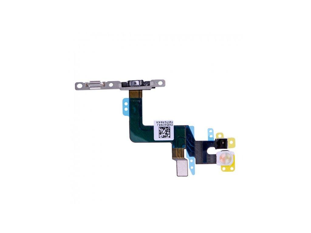 Flex s mikrospínačem POWER, bleskem kamery a vrchním mikrofonem pro Apple iPhone 6