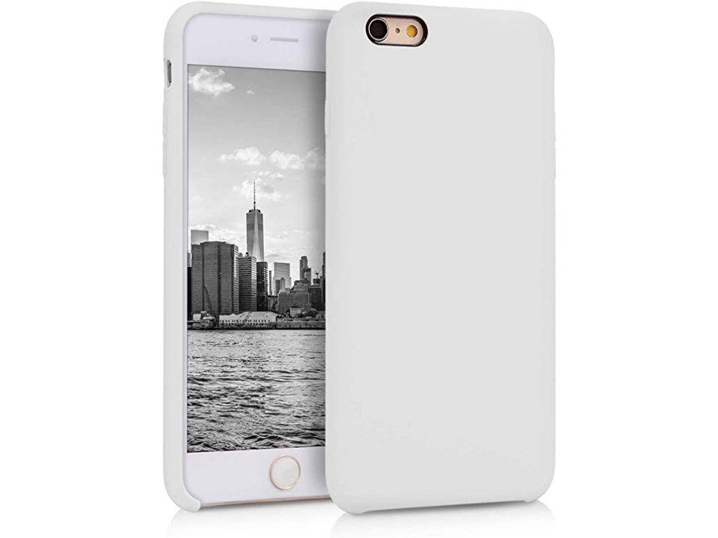 Silikonové pouzdro pro iPhone 6S bílé