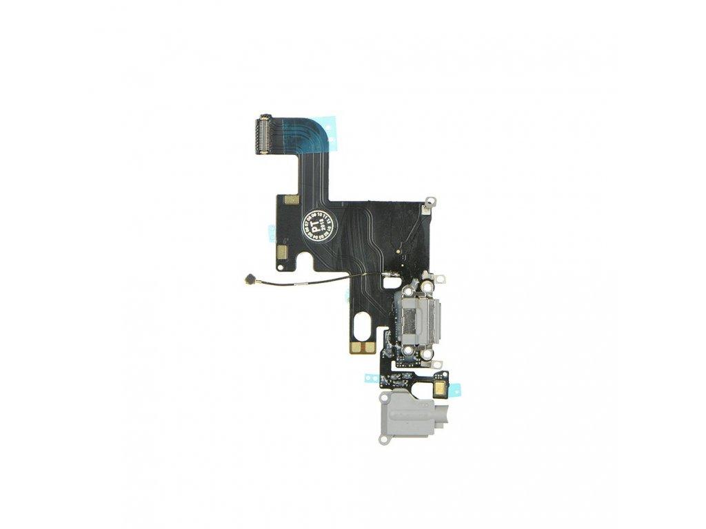 Flex kabel konektoru nabíjení pro iPhone 6 4,7+ HF černý 1