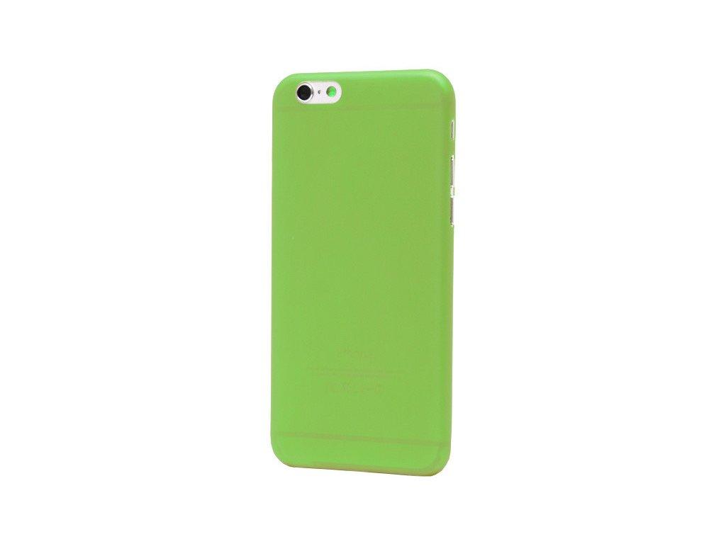 Silikonové pouzdro pro iPhone 6S zelené