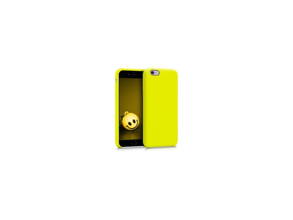 Silikonové pouzdro pro iPhone 6S žluté