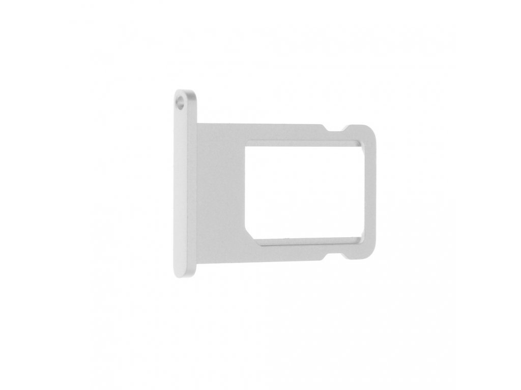 Šuplík na SIM kartu OEM pro iPhone 6 bílý