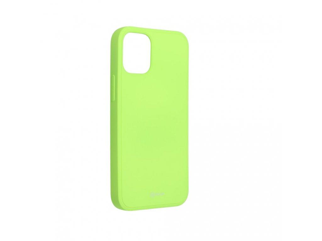 Silikonove pouzdro Roar pro iphone 12 mini zelene