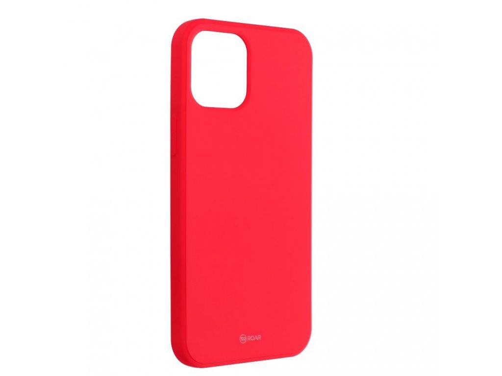 Silikonovy obal Roar pro iphone 12 cervena