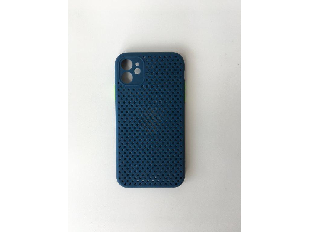 Silikonové pouzdro pro iPhone 11 - Modré
