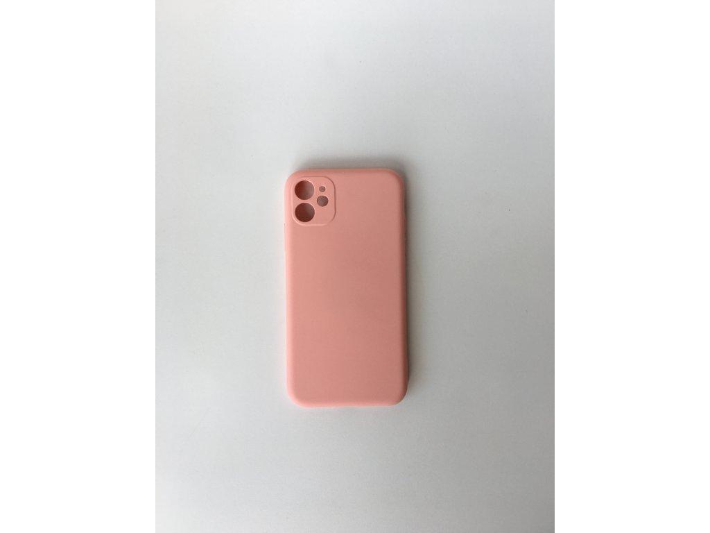 Silikonové pouzdro pro iPhone 11 - Ružové
