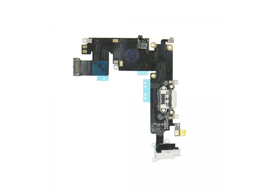 Flex kabel konektoru nabíjení pro iPhone 6 Plus 5,5+ HF bílý1