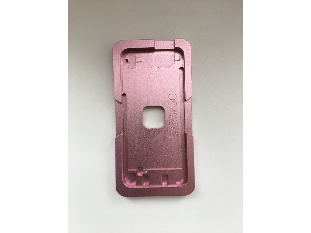 Ocelová forma pro umístění skla dotykového displeje LCD pro iPhone 6/6S