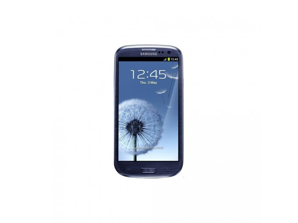 Samsung Galaxy S3 modra