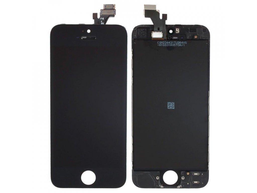 LCD + dotyková vrstva Apple iPhone 5S 5C černá