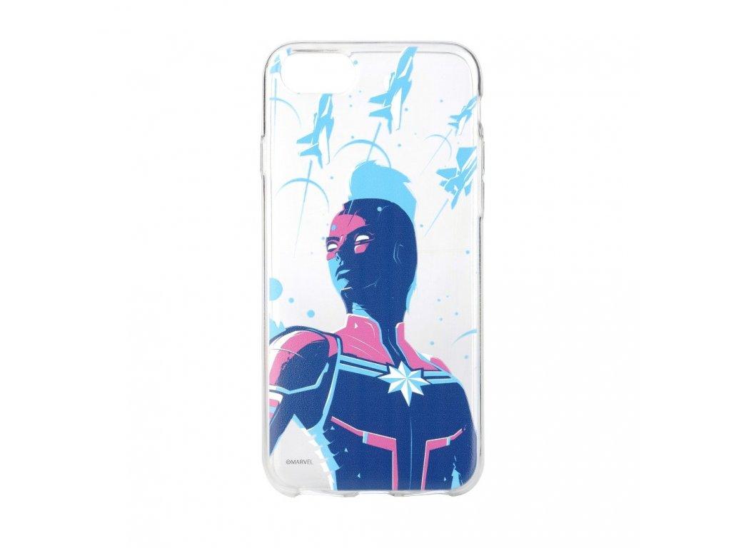 Originální silikonové pouzdro od Marvelu Kapitán Marvel pro iPhone 6 PLUS