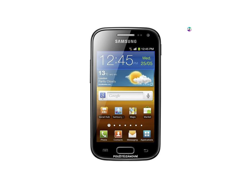 Samsung Galaxy Ace 2 i8160 cerna