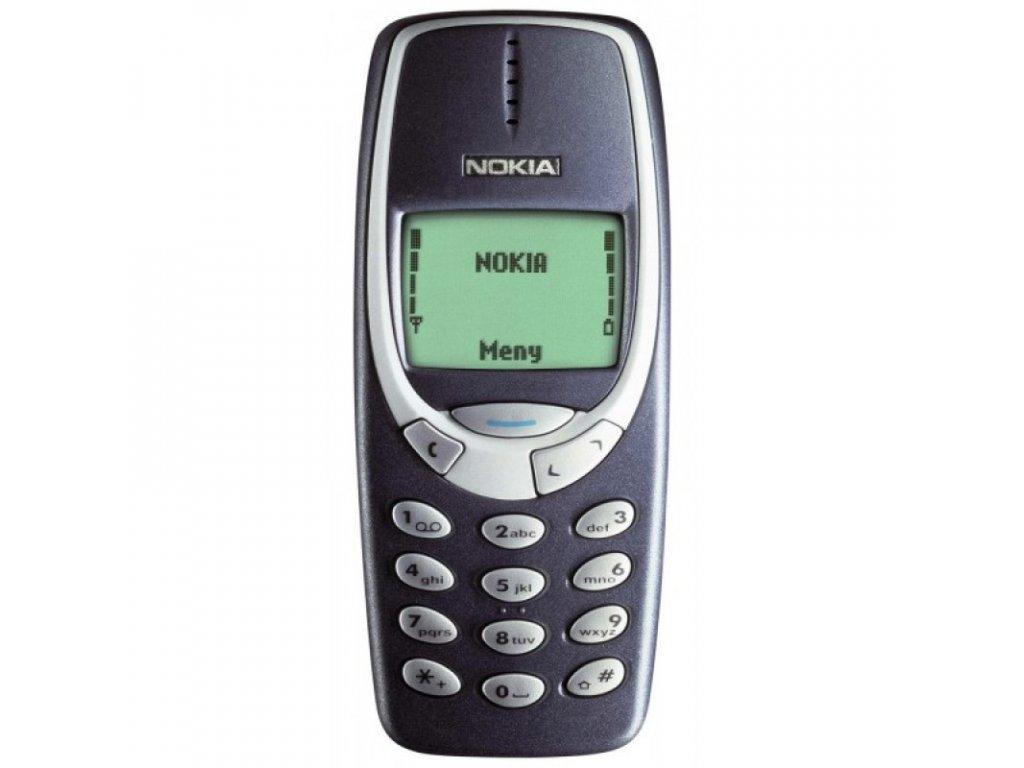 Nokia 3310 Modrá