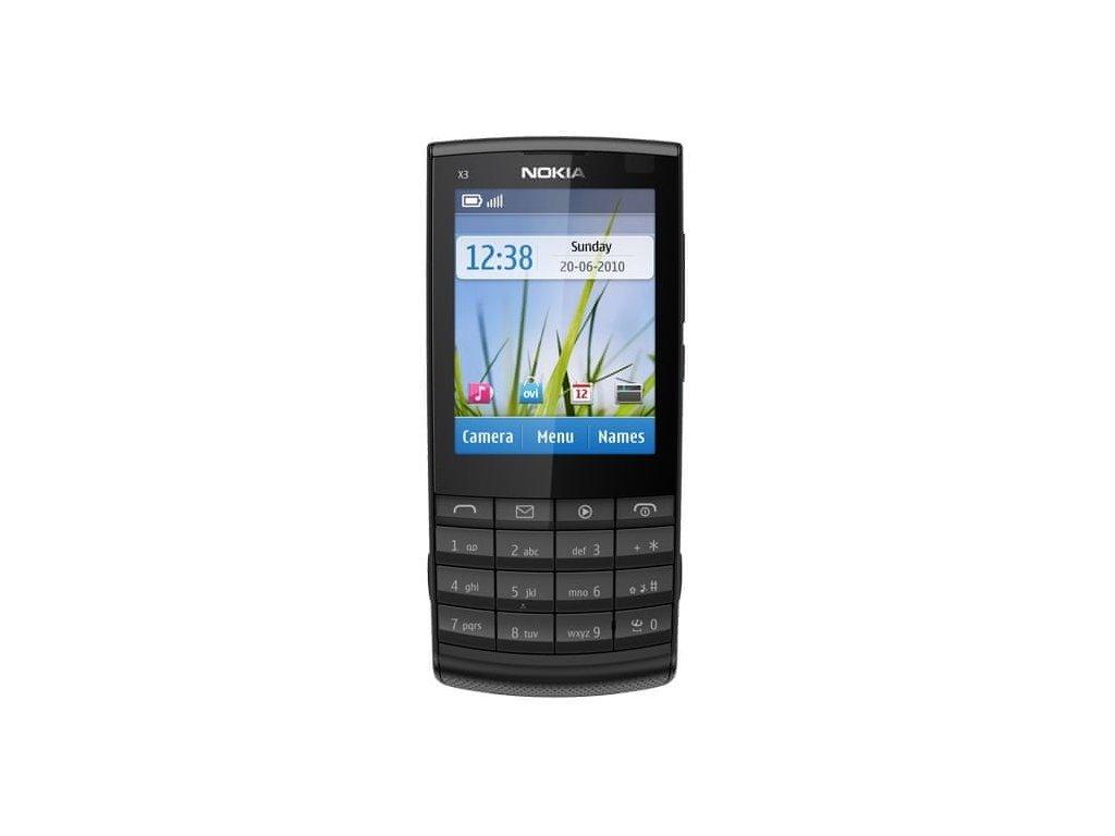 Nokia X3 02 Black
