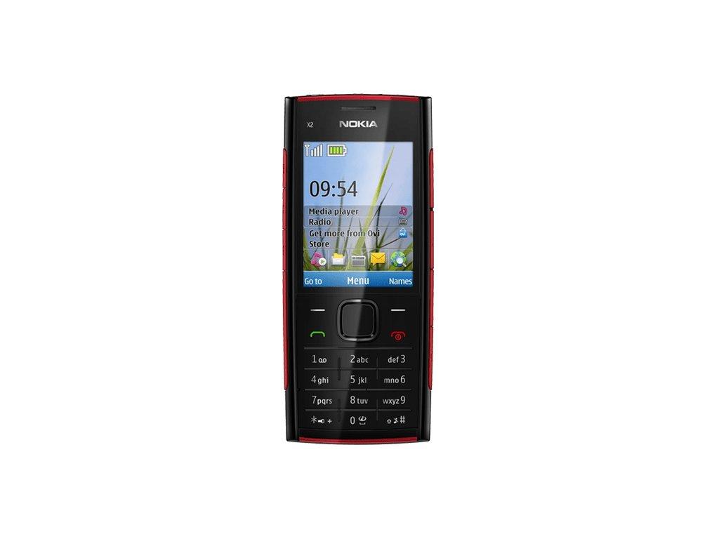 Nokia X2 00 černá