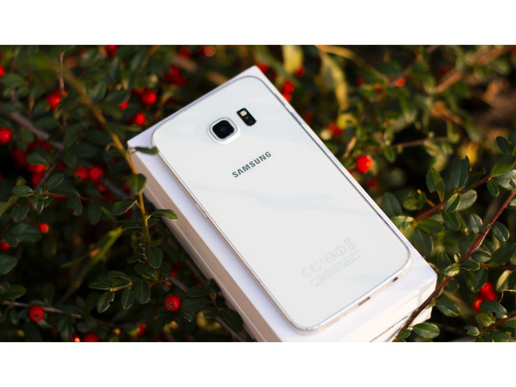 Samsung S6 Edge bílá