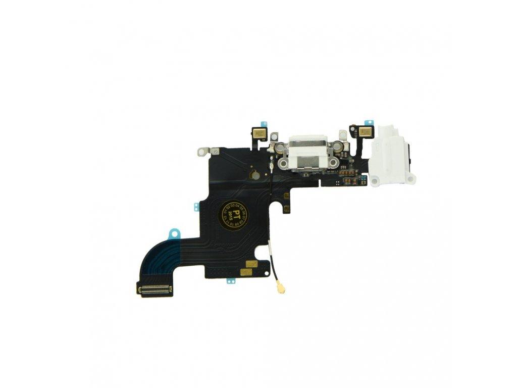 Flex kabel pro iPhone 7 4,7 + konektor nabíjení bílý1