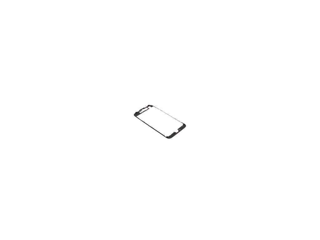 Plastový fixační rámeček pro přední panel (touch screen) Apple iPhone 7 černý