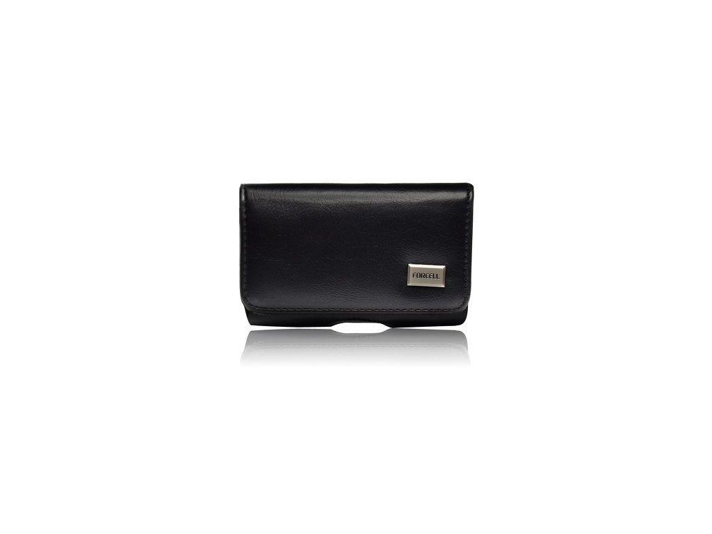 Pouzdro Forcell Classic 100Apro iPhone 5E černé