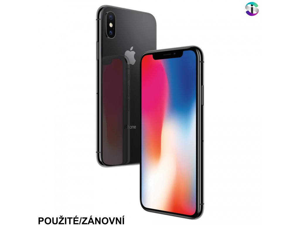 Apple iPhone X Space Gray (kopie)