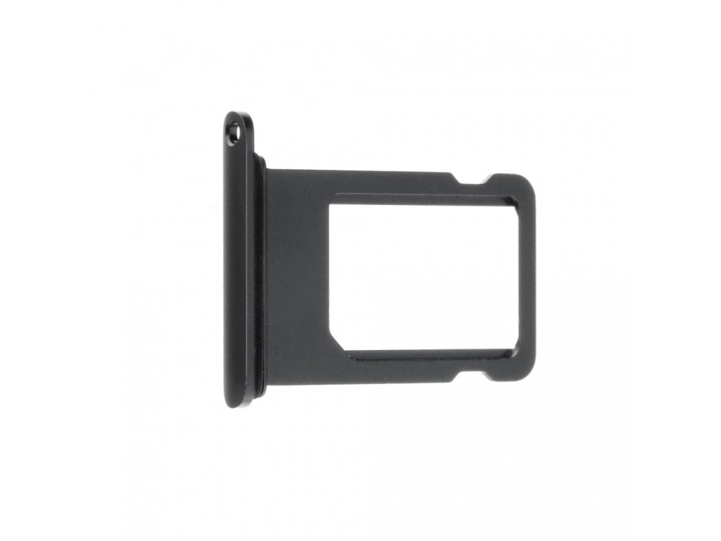 Šuplík na SIM kartu OEM pro iPhone 7 Plus Jet Black