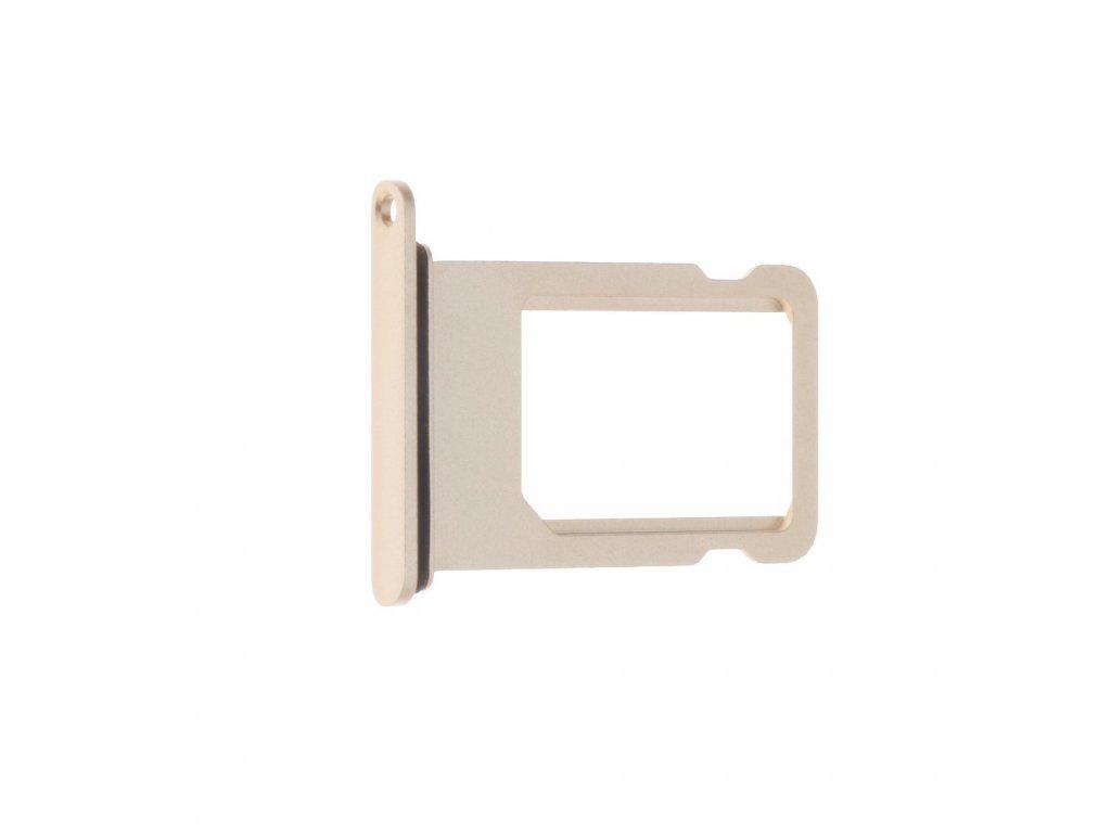 Šuplík na SIM kartu OEM pro iPhone 7 Plus zlatý