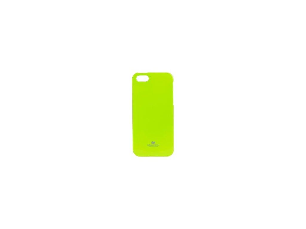 Pouzdro Jelly Mercury pro iPhone 5 SE limetkové