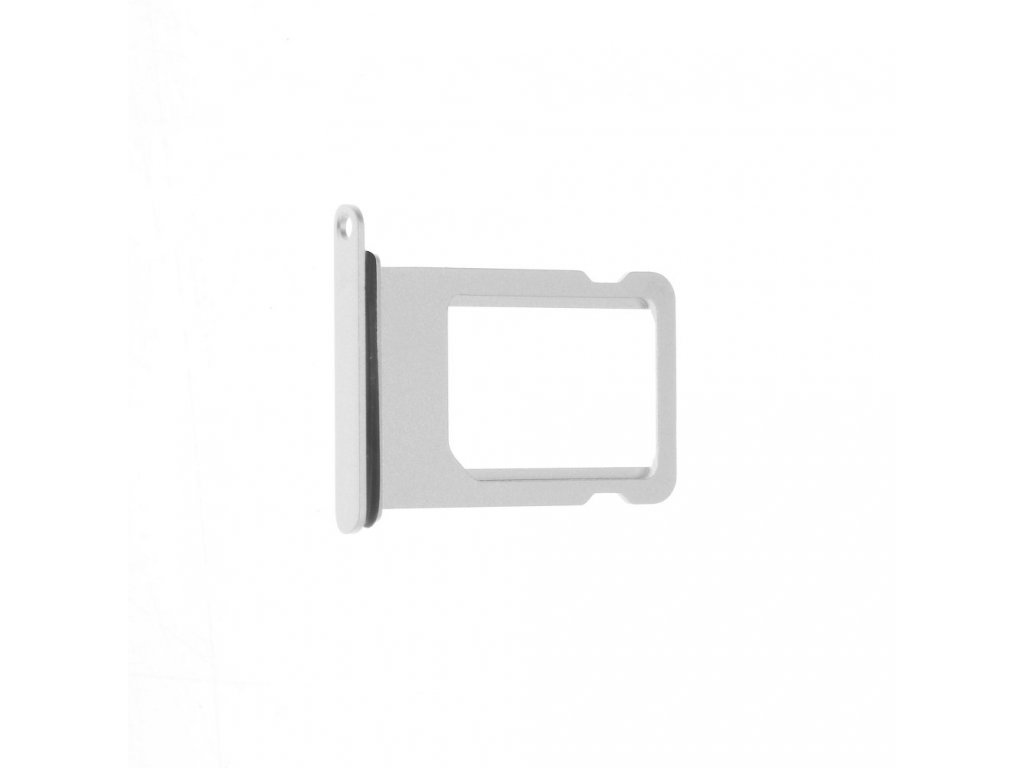 Šuplík na SIM kartu OEM pro iPhone 8 bílý