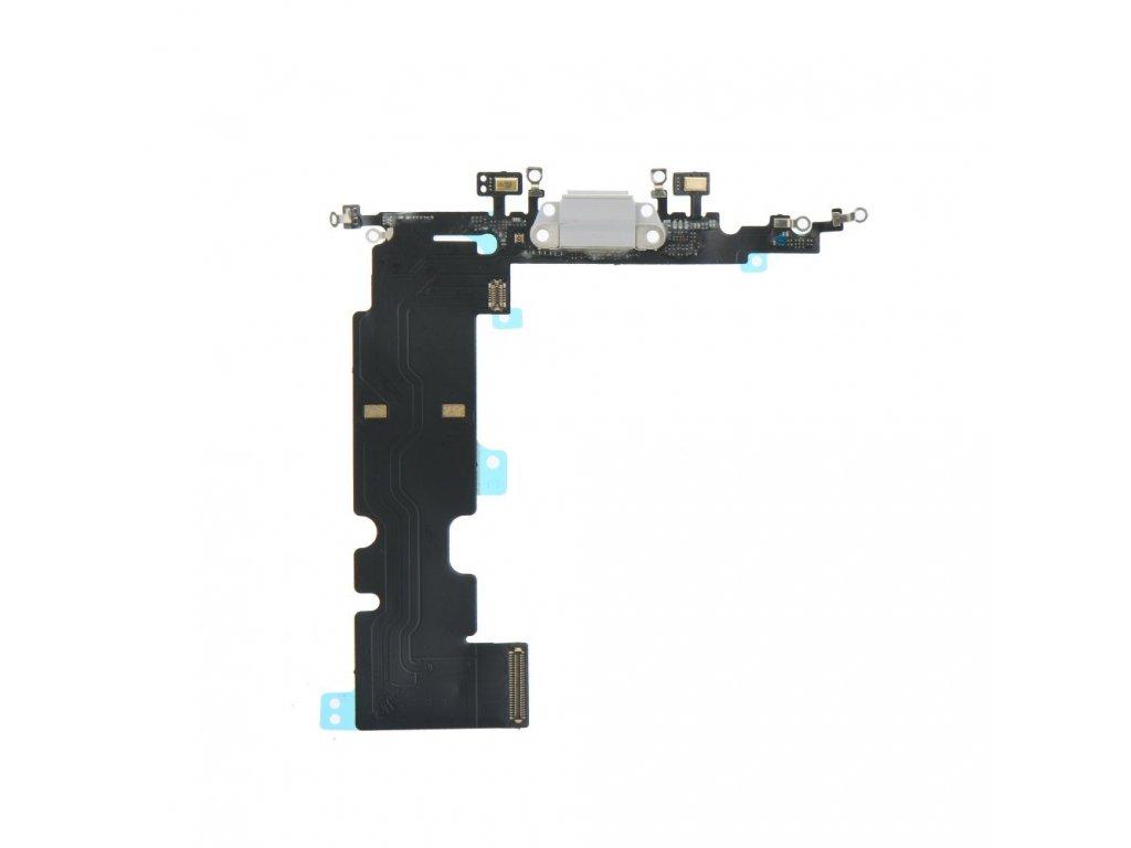 Flex kabel pro iPhone 8 5,5 + konektor nabíjení bílý 1