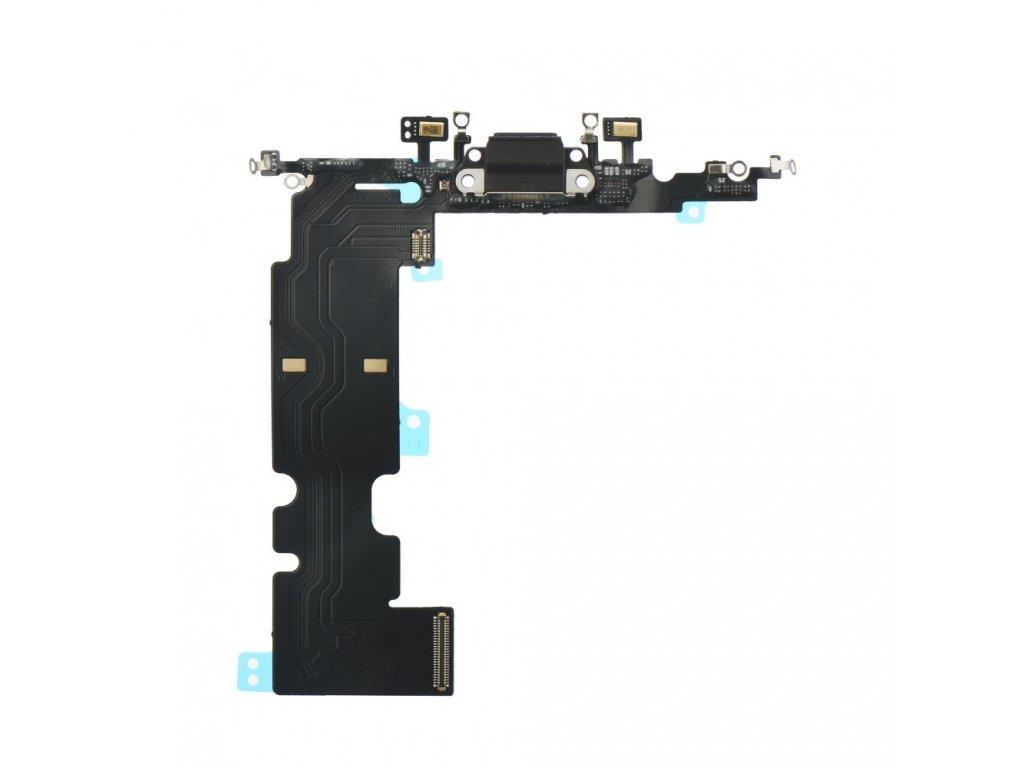 Flex kabel pro iPhone 8 5,5 + konektor nabíjení černý 1