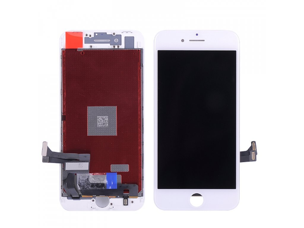 LCD + Dotyková vrstva Apple iPhone 8 Plus bila