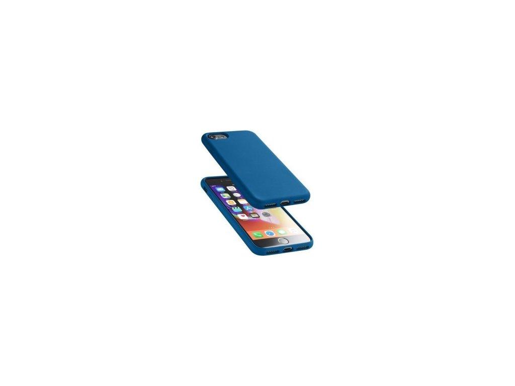 Silikonové pouzdro pro iPhone 8SE 2020 tmavě modrá