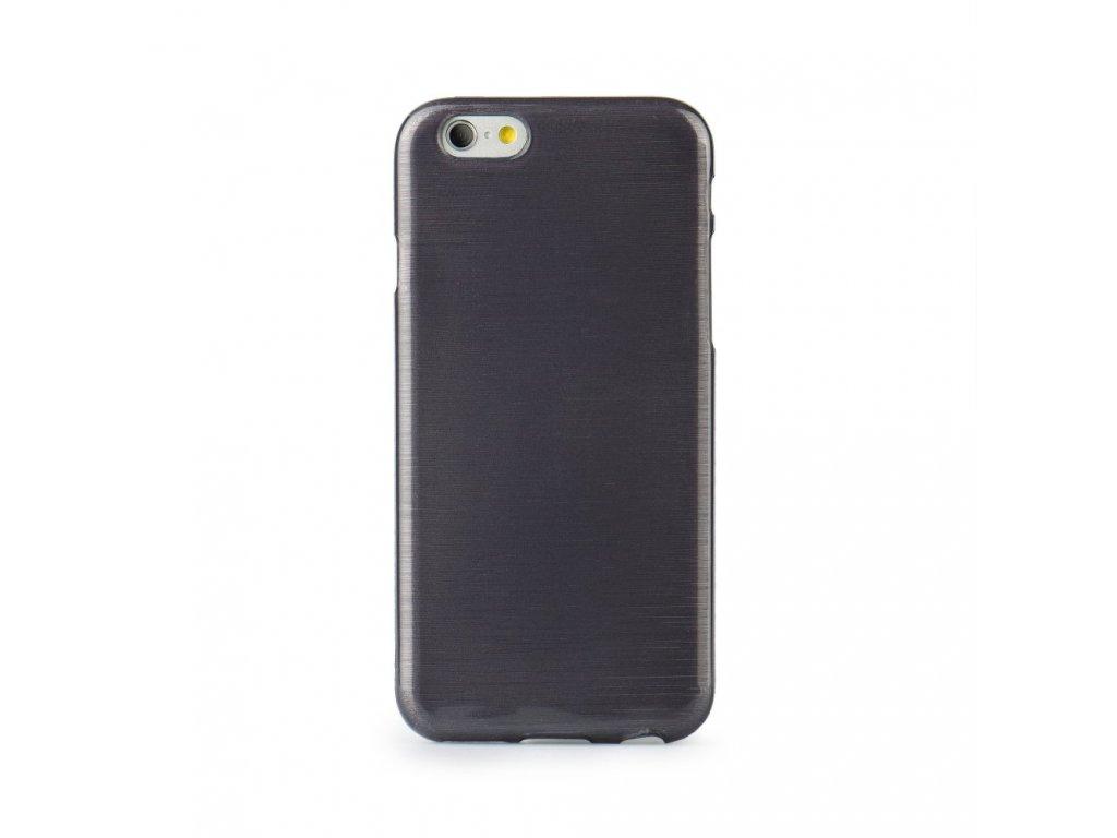 Pouzdro Jelly Case Brush pro APP IPHO 7 Plus8 Plus black