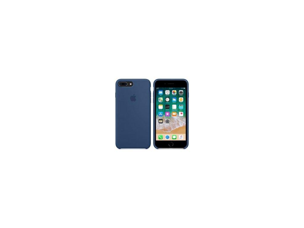 Silikonové pouzdro pro iPhone 7 8 Plus modré